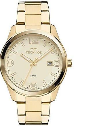 Technos Relógio Feminino Technos Analógico 2115MNA/4X Dourado
