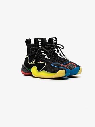 adidas black bubble sole sock insert sneakers