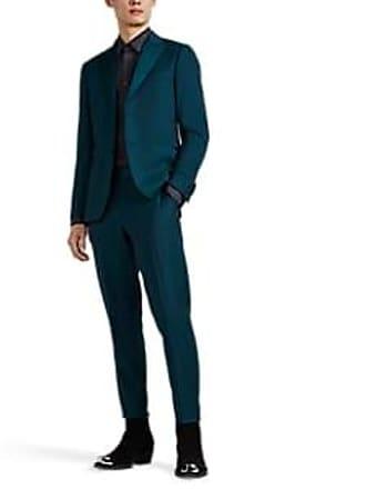 dbe5437ec496 Paul Smith Mens Soho Satin-Trimmed Two-Button Tuxedo - Blue Size 42