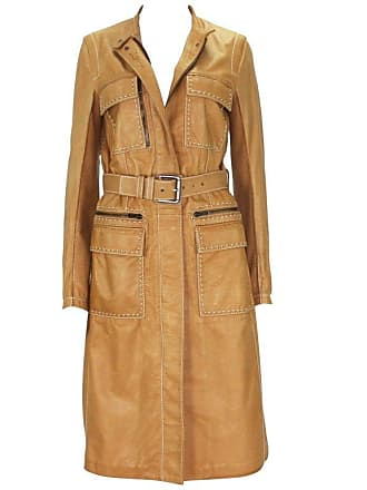 4faf041a561c Tom Ford New Tom Ford For Yves Saint Laurent Rive Gauche Leather Safari  Camel Coat 36