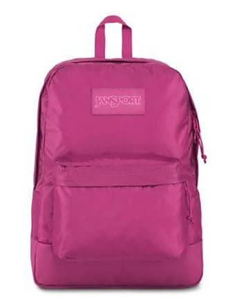 Jansport Mono Superbreak Backpacks - Magenta Haze