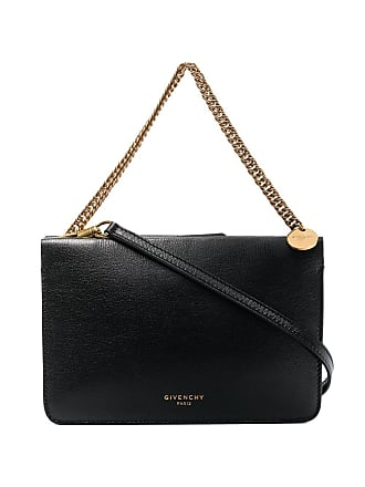 b691cdac38 Givenchy black cross 3 leather shoulder bag