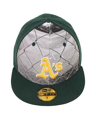 New Era Boné New Era 5950 Round Dwary Oakland Athletics MLB Verde