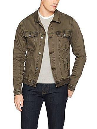 Zanerobe Mens Rise-Greaser Denim Jacket, Peat, M