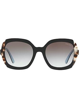 6bd19908b48 Prada oversized frame sunglasses - Black