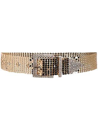 B-Low The Belt ceinture métallisée à ornements en cristal - Doré e6c19ee2cc7