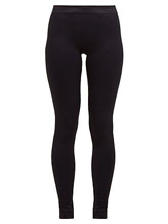 Falke Vision High Rise Performance Leggings - Womens - Black