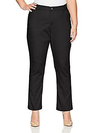 5da2f0b4f98 Lee Lee Womens Plus Size Flex Motion Regular Fit Straight Leg Pant