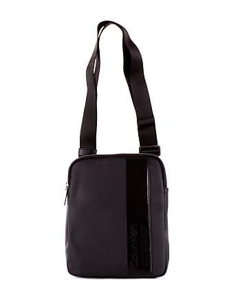 ae50220cf2 Calvin Klein MENS K50K504356BLACK BLACK COTTON MESSENGER BAG