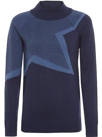 Vi And Co Blusa de Tricot Estrela Vi And Co. - Azul