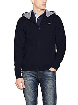 84365cdc5d6b Lacoste Sport - Sweat-shirt à Capuche Homme - Multicolore (Marine Argent  Chine