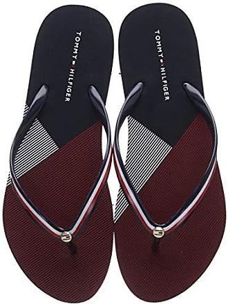 ad3da930ef9 Tommy Hilfiger Flat Beach Sandal Stripe Print
