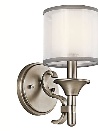 Kichler 45281AP Wall Sconce 1Lt in Antique Pewter