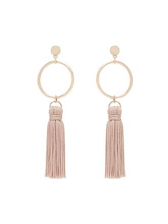 Forever New Celeste Geo Tassel Drop Earrings - Blush - 00