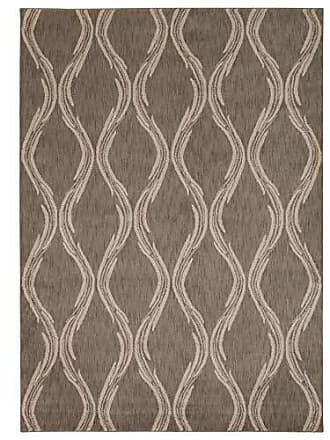 Nourison Rug Squared Wellesley Contemporary Area Rug (WEL02), 7-Feet 9-Inches by 10-Feet 10-Inches, Taupe