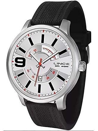 Lince Relógio Masculino Lince Casual Mrph056s B2px Prateado