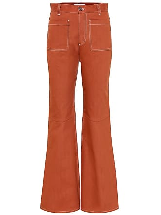 See By Chloé High-rise flared jeans