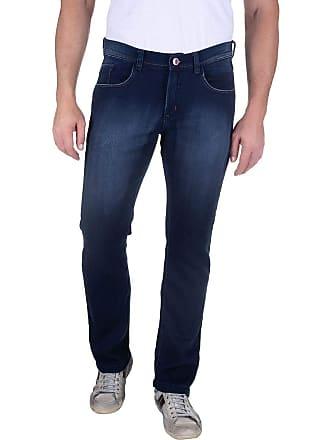 Colombo Calça Jeans Masculina Azul Lisa 49570 Colombo