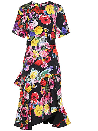 Preen Elizabeth floral-printed dress
