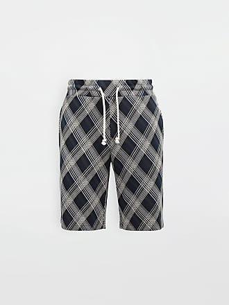 Maison Margiela Maison Margiela Shorts Blue Cotton, Polyester