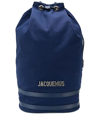Jacquemus large drawstring backpack - Azul