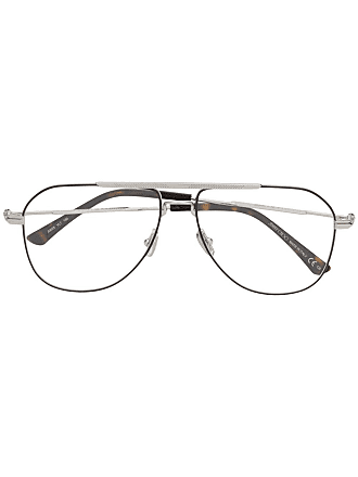 Jimmy Choo Eyewear Armação de óculos aviador - Prateado