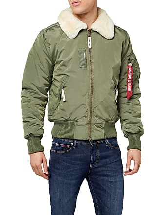 8b9d7dce7fed Alpha Industries Mens Injector III Bomber Jacket, Grün (Sage-Green 01),