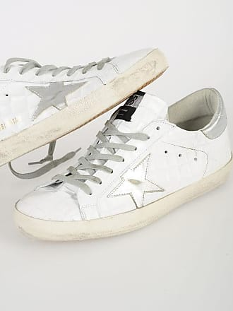 Golden Goose Crocodile Printed SUPERSTAR Sneakers size 40