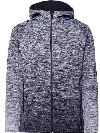 Nike Mélange Therma Sphere Dri-fit Zip-up Hoodie - Gray