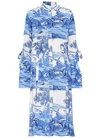 Ellery Zenith printed stretch-silk dress