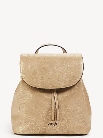 Sole Society Womens Hawna Backpack Vegan Mini Metallic Safari One Size Vegan Leather From Sole Society