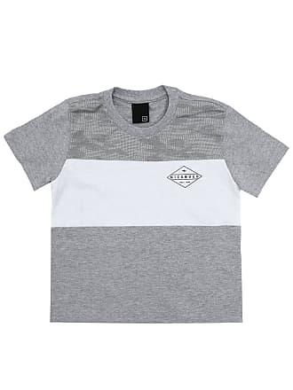 NICOBOCO Camiseta Nicoboco Menino Lisa Cinza