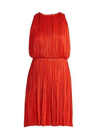 Maria Lucia Hohan Malie Silk Tulle Dress - Womens - Red