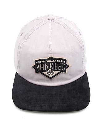 79d55bc7a2b69 New Era Boné New Era Snapback New York Yankees Cinza Preto