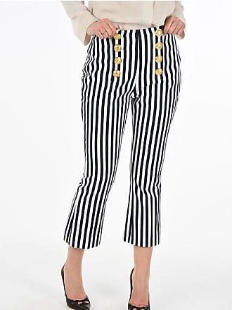 Balmain striped capri pants Größe 42