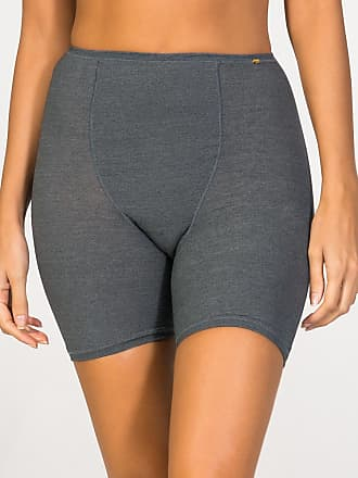 ZD Zero Defects Zero Defects grey soya short-leg panties