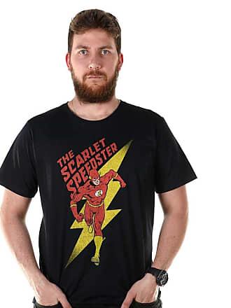DC Comics Camiseta Masculina The Flash The Scarlet Oficial