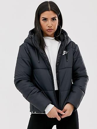 chaqueta negra mujer nike