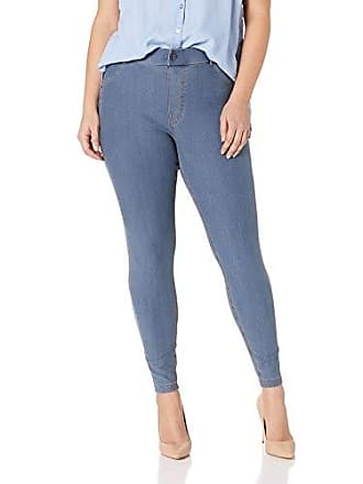 8a0fff1e05fad5 Hue Womens Essential Denim Leggings, Stone Acid Wash, Small