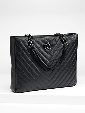 Simons Quilted leather tote