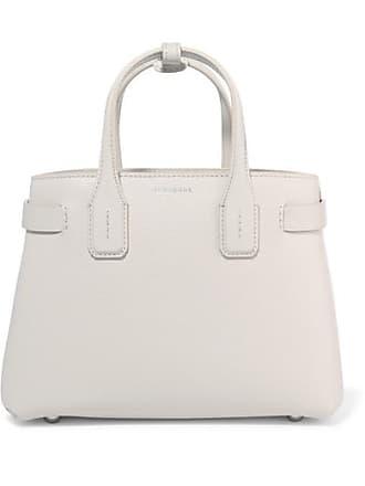e33635416dd7 Burberry Textured-leather Tote - White