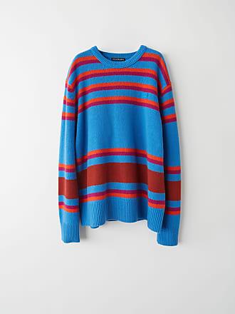 Acne Studios FA-UX-KNIT000011 Blue Multicolor Knit sweater
