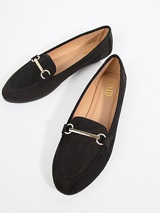 24b153475e19 Raid Viera Black Snaffle Detail Flat Shoes - Black