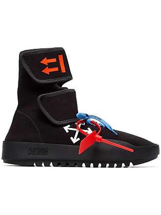 Off,white Sneakers alte , Di Colore Nero