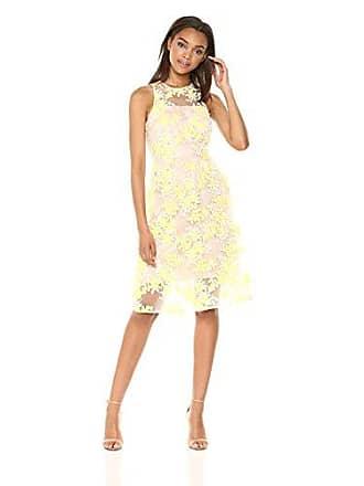 5efa94b9dd0 Trina Turk Trina Trina Turk Womens Arroyo Tea Length Lace Dress