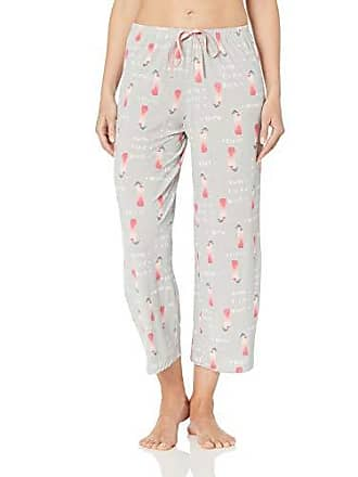 86853b807 Hue Womens Printed Knit Capri Pajama Sleep Pant, Sterling Grey - Cocktail  Coolers, Extra
