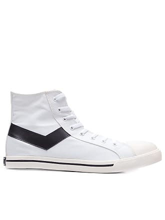 Pony TÊNIS MASCULINO SHOOTER HI CANVAS - BRANCO