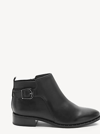 Blondo Womens Tami Ankle Bootie Black Leather Size 6.5 From Sole Society