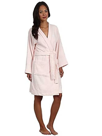 7ad0afa48a1 Ralph Lauren Greenwich Woven Terry Robe (Chiffon Pink) Womens Robe