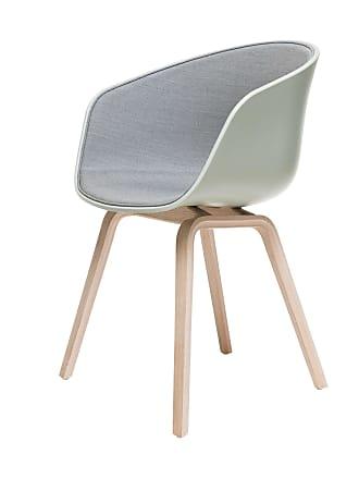 HAY About A Chair AAC22 Spiegelpolster Stuhl geseift